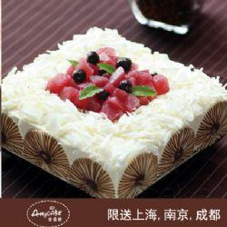 安易客蛋糕/红酒梨.芝士蛋糕{8寸}