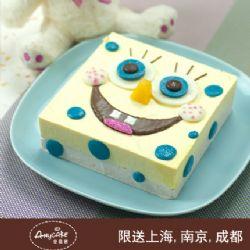安易客蛋糕/海绵宝宝儿童蛋糕{8寸}