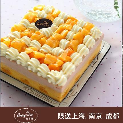 安易客蛋糕/�S多利��重度芝士蛋糕{8寸}