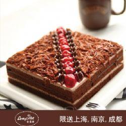 安易客蛋糕/火焰森林巧克力蛋糕{8寸}