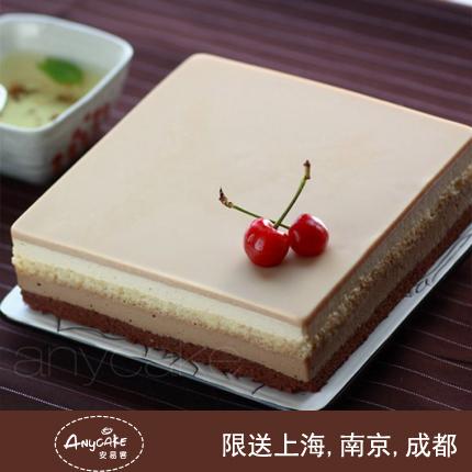 安易客蛋糕/咖啡乳酪慕斯蛋糕{8寸}