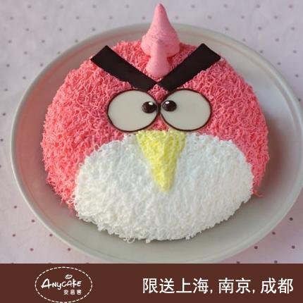 安易客蛋糕/愤怒的小鸟儿童蛋糕{8寸}