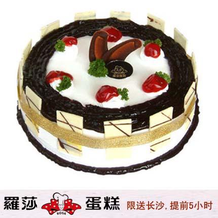 �L沙�_莎蛋糕/ �{莓幻想(8寸)