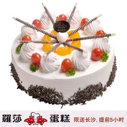 �L沙�_莎蛋糕/ 合家�g(8寸)
