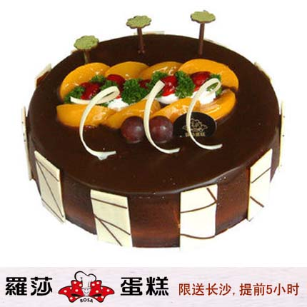 长沙罗莎蛋糕/ 朱古力乐园(8寸)