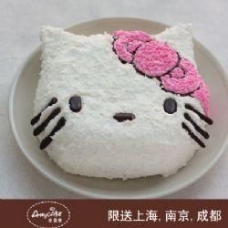 安易客蛋糕/萝莉 kitty儿童蛋糕{8寸}