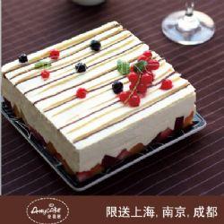安易客蛋糕/丝绸之路乳脂奶油蛋糕{8寸}