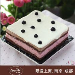 安易客蛋糕/罗兰莓丽慕斯蛋糕{8寸}