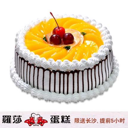�L沙�_莎蛋糕/ 百果�@(8寸)