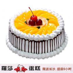 长沙罗莎蛋糕/ 百果园(8寸)