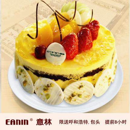 意林蛋糕/父�廴缟锦r奶油蛋糕{8寸}