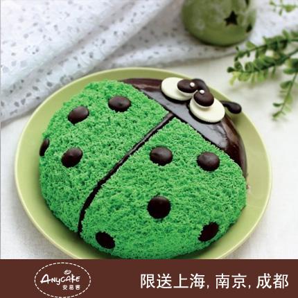 manbetx体育/瓢虫先生儿童蛋糕{8寸}