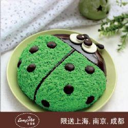 安易客蛋糕/瓢虫先生儿童蛋糕{8寸}