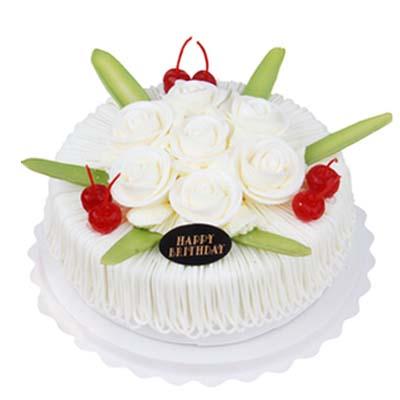 鲜奶水果蛋糕/鲜奶水果蛋糕(6寸)