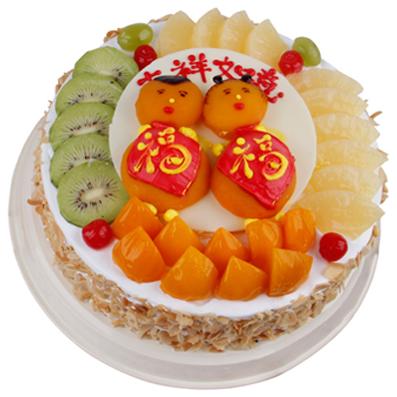 水果蛋糕/福喜如意(10寸)
