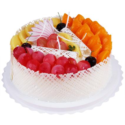 黄漾情愿蛋糕/水果蛋糕(8寸)