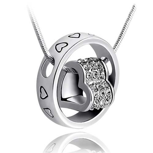 施华洛世奇/施华洛世奇元素水晶项链锁骨女短款