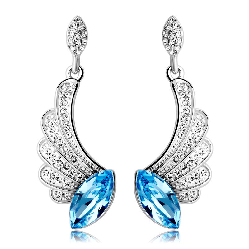 施华洛世奇/天使的诱惑水晶耳环