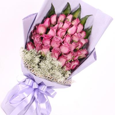 心底深处的爱/33朵紫玫瑰