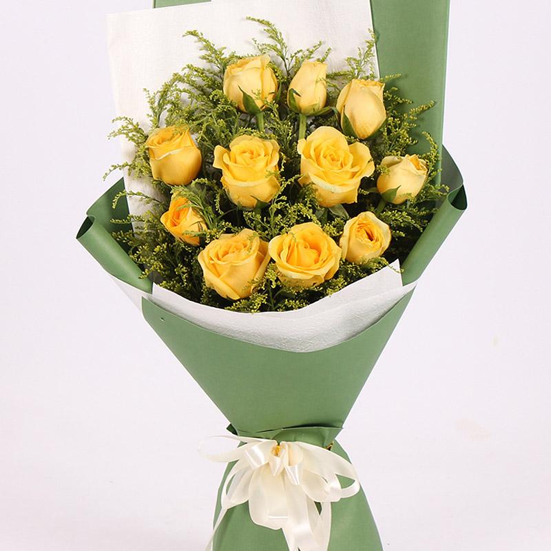 很爱很爱你/11朵黄玫瑰