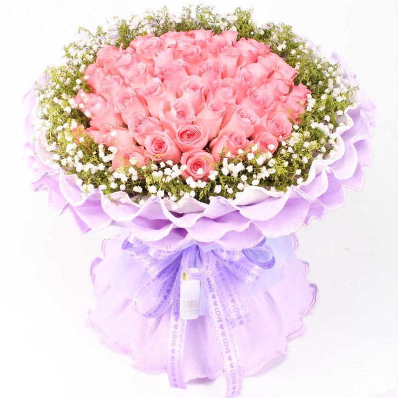 爱的供养/33朵粉玫瑰