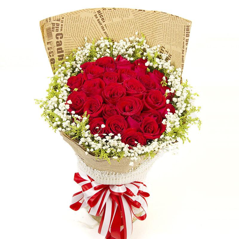守护幸福/33朵红玫瑰