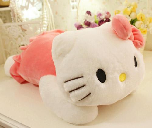 毛绒玩具/kitty猫咪抱枕(35cm)