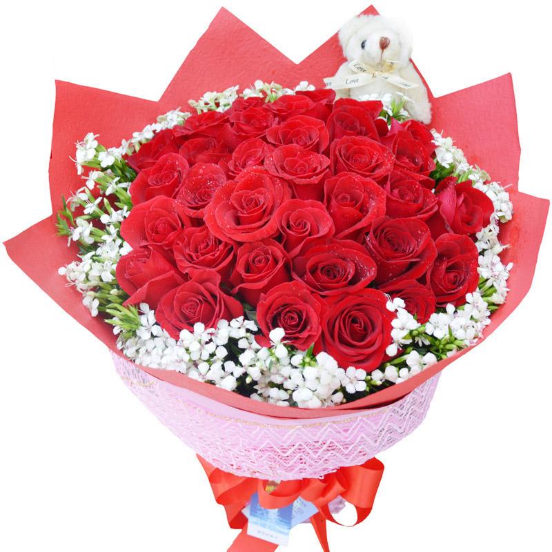 相知相恋/50朵红玫瑰