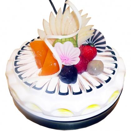 鲜奶蛋糕/四季的祝福(8寸)