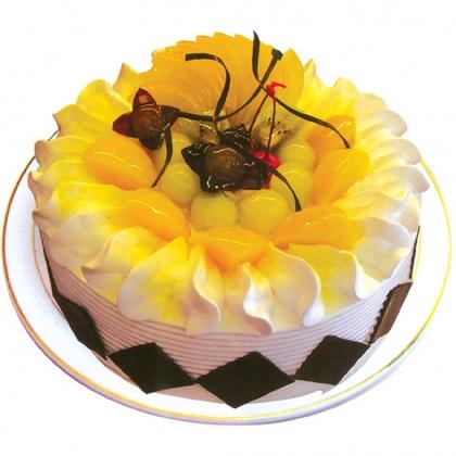 鲜奶蛋糕/盛夏的果实(8寸)