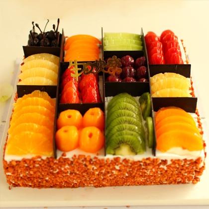 水果蛋糕/百般滋味(10寸)