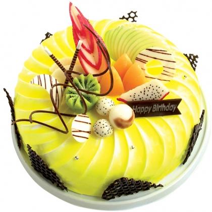 水果蛋糕/甜美(8寸)