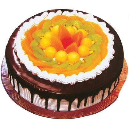 水果巧克力蛋糕/情话(8寸)