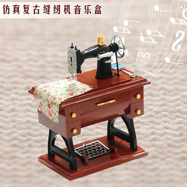创意礼品/迷你缝纫机浪漫音乐盒创意礼物