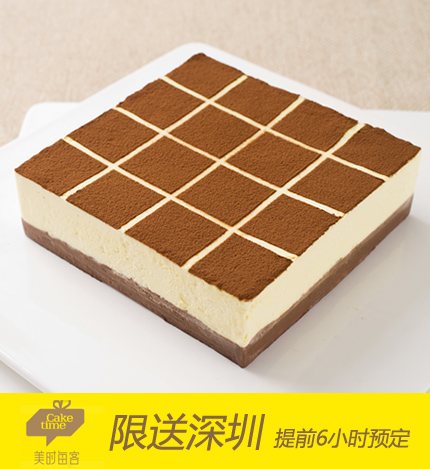 美�r每客蛋糕/黑白巧克力格�{