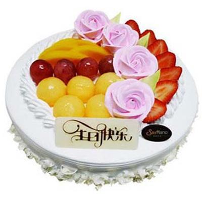 水果蛋糕/暖暖温情(8寸)