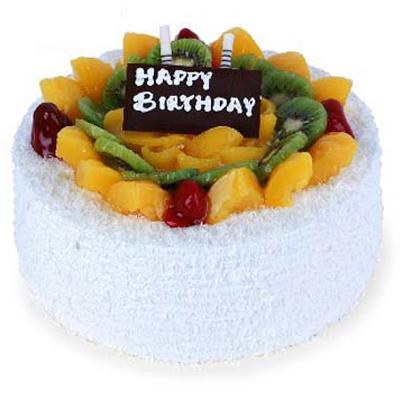 水果蛋糕/瑞雪丰年(8寸)