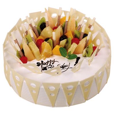 水果蛋糕/爱的从林(8寸)