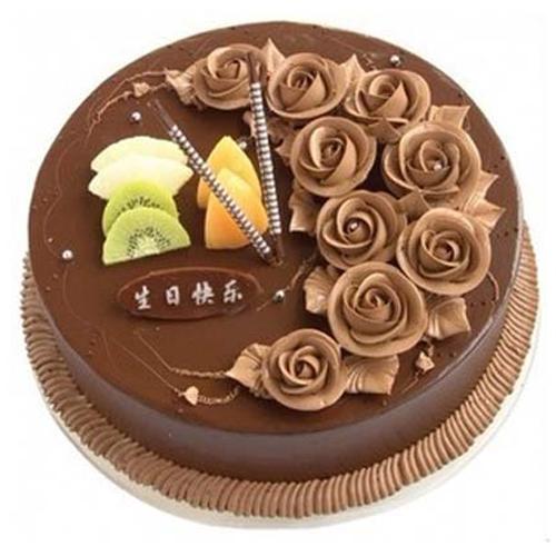 巧克力蛋糕/一生的爱(8寸)