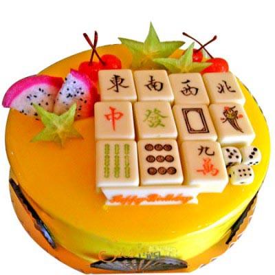 麻將蛋糕/快樂無限