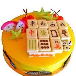 麻将蛋糕/快乐无限