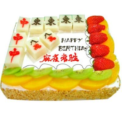 麻将蛋糕/常胜将军