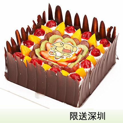 深圳vcake蛋糕/快����(6寸/1.5磅)