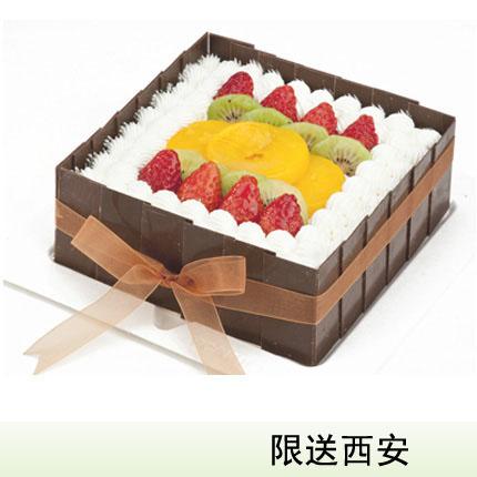 西安vcake蛋糕/水果盛宴(6寸/1.5磅)