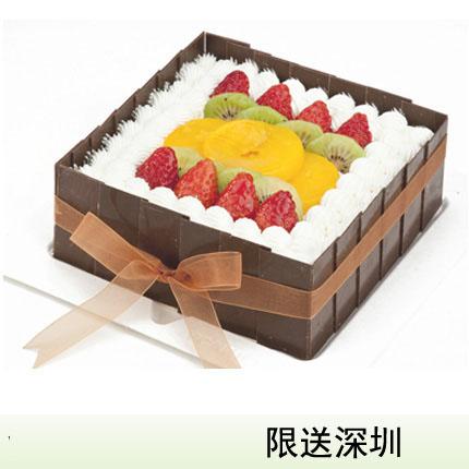 深圳vcake蛋糕/水果盛宴(6寸/1.5磅)