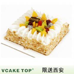 西安vcake蛋糕/果饰杏仁(6寸/1.5磅)