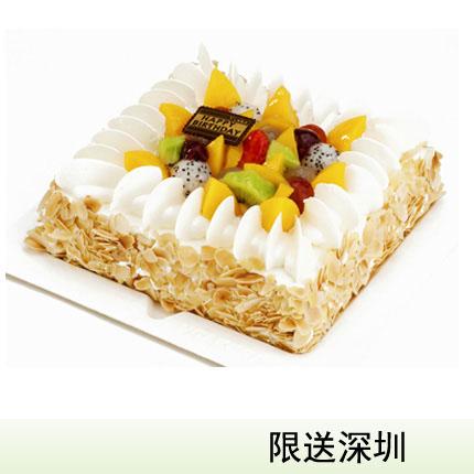深圳vcake蛋糕/果饰杏仁(6寸/1.5磅)