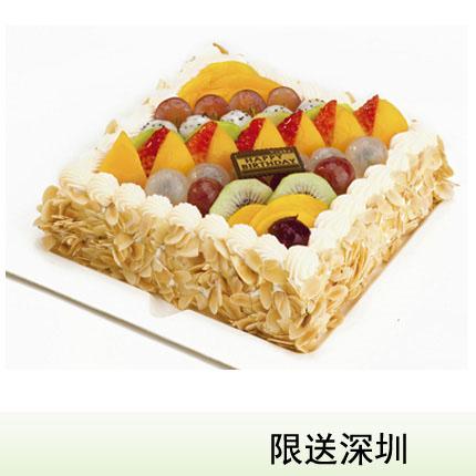 深圳vcake蛋糕/彩虹巴黎(6寸/1.5磅)