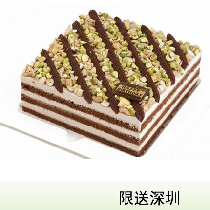 深圳vcake蛋糕/�_心百分百(6寸/1.5磅)