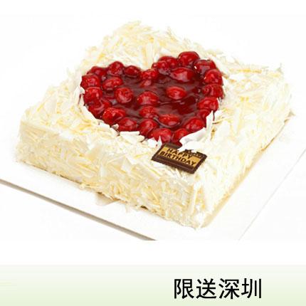 深圳vcake蛋糕/37度��(6寸/1.5磅)